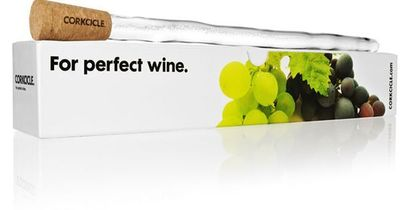 Genius - No need for a wine cellar or cooler. Perfectly chilled wine in minutes - red or white!