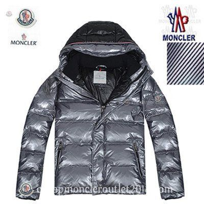 Moncler Maya Gray Men Down Jacket Silver with Superior Quality