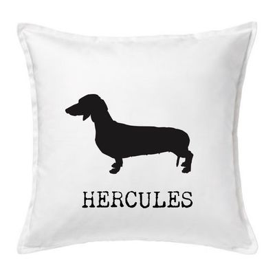 Personalised Dog Cushion, dachshund Cushion, Christmas Cushion, Personalized Pillow, Cushion, Christmas Gift, Home, Decor, Interiors, £18.00