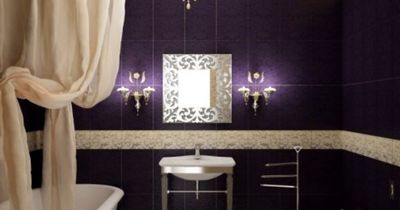 Chandelier in the bathroom is an absolute must for me!!