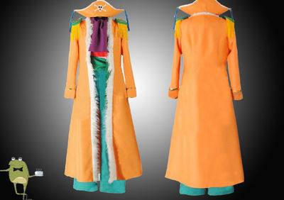 One Piece Buggy the Clown Cosplay Costume Coat