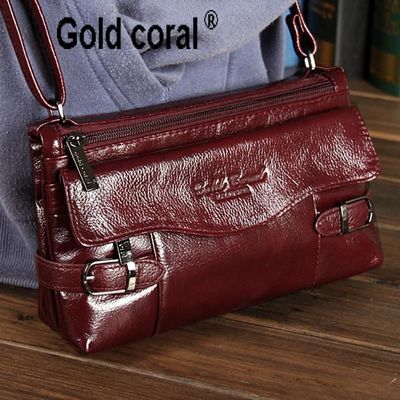 Genuine leather small messenger bags for women shoulder bags new handbags cowhide R383.40