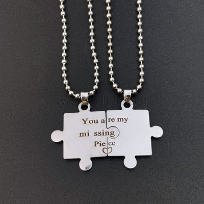 You are My Missing Piece Promise Pendants https://www.gullei.com/you-are-my-missing-piece-promise-pendants.html