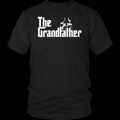 """The Grandfather"" T-Shirt $19.99"