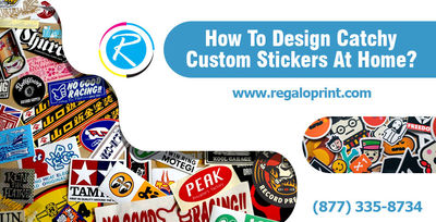 """Customized Stickers Printing at RegaloPrint""