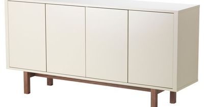 Stockholm buffet beige ikea for the home juxtapost - Ikea buffet stockholm ...