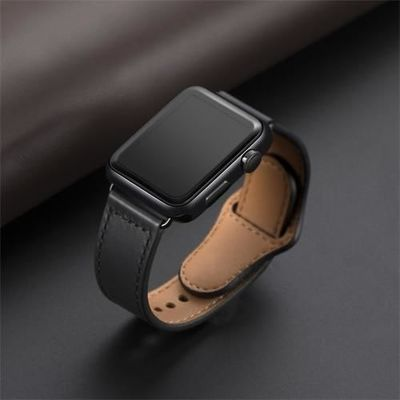 Genuine Leather Loop Strap For Apple Watch Band 44mm 40mm 42mm 38mm iWatch Series 5/4/3/2/1 $31.99