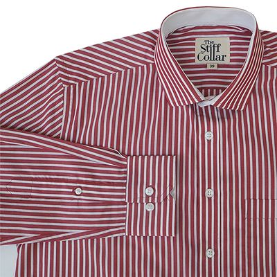 Elphinstone Red Stripes Business Shirt �'�1299.00