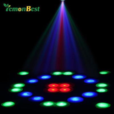 Price: $46.19 | Product: Holiday Decoration Christmas Laser Projector Stage Light 64-LED Disco DJ Club Party | Visit our online store https://ladiesgents.ca
