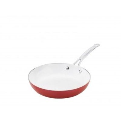 Ceramic 9' Fry Pan from Fuller:  Easy to make foods in ceramic non-stick pan.Also it is easily washable once you have prepared your delicious meal.