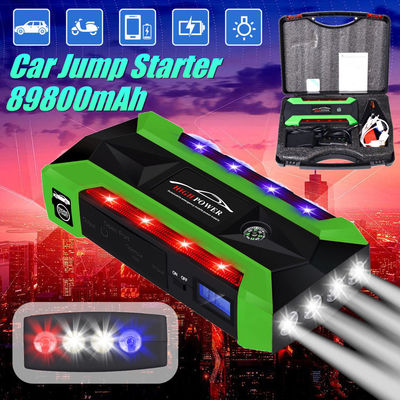 89800mAh Multifunctional Jump Starter Emergency Start Power with Safety Hammer
