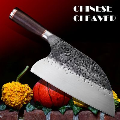 Chinese Cleaver Hand Forged Chef Knife Home Cooking Tool $49.80