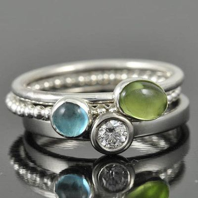 Peridot ring, august, birthstone ring, oval, gemstone ring, birthstone ring, sterling silver ring, bezel set, stackable ring