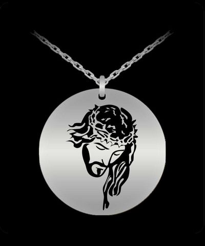 Christian necklace charm, $33.45