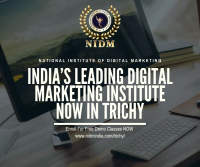 Digital Marketing course in Trichy , Digital marketing training course in trichy .