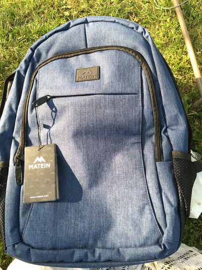 Matein backpack with USB cord inside. Brand new with tags! $55.00