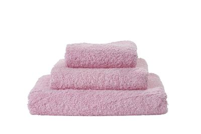 Super Pile Pink Lady Towels by Abyss and Habidecor $20.00