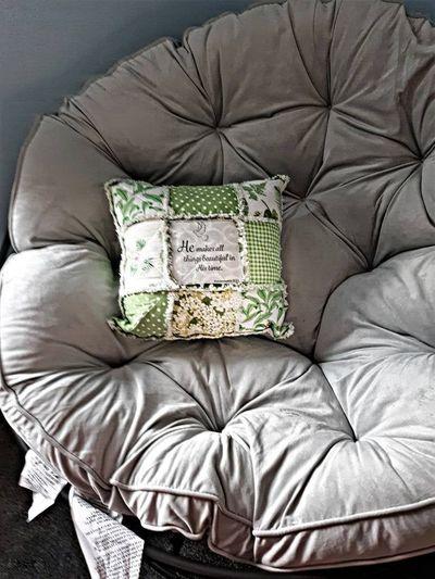 Green Accent Couch Pillow-Inspirational Verse Womens Gift-Decorative Floral Toss Pillow-Housewarming Throw Pillow Gift $45.00