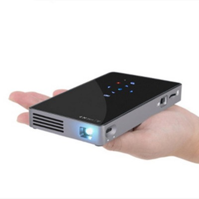 D5S Projector Android Wifi Portable Mini Outdoor Built-in Battery DLP Android 7.1 Smart Projector