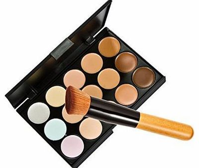Zeagoo 15 Colors Makeup Concealer Foundation Cream Cosmetic Palette Set Tools With Brush No description (Barcode EAN = 0707137630109). http://www.comparestoreprices.co.uk/mac-cosmetics/zeagoo-15-colors-makeup-concealer-foundation-cream-cosmetic-pa...