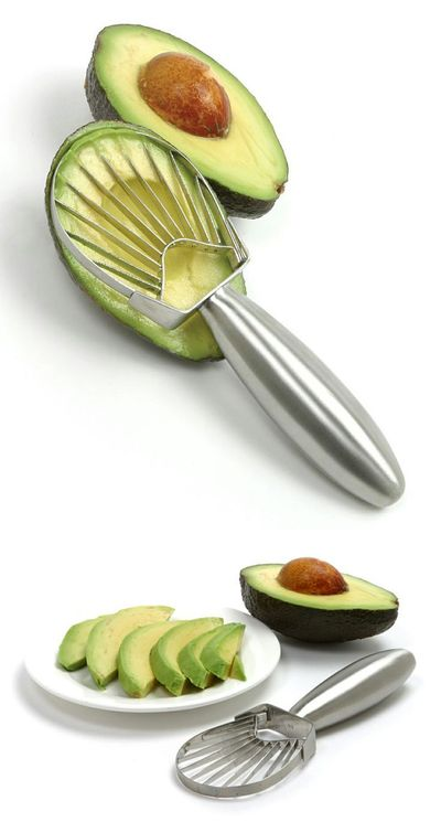 avocado, stainless steel and steel.