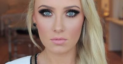 Makeup for blue eyes, the perfect makeup tutorial for blonde hair. | http: