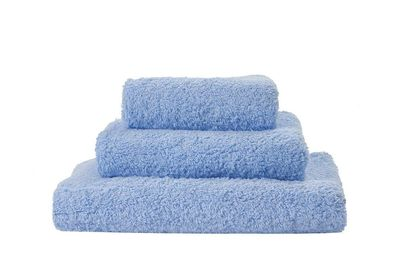 Super Pile Powder Blue Towels by Abyss and Habidecor $20.00