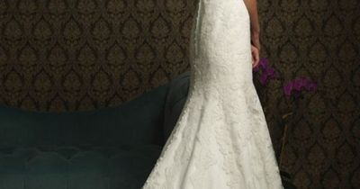 Used Allure 8770 Size 3 for $940. You saved 52% Off Retail! Find the perfect preowned dress at OnceWed.com.