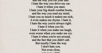 The Poem From 10 Things I Hate About You And C Movie Time