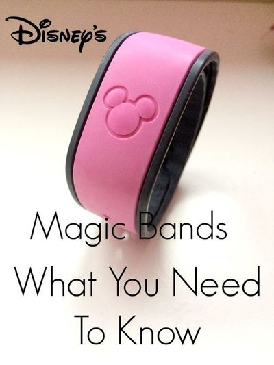 Going to Walt Disney World and buying magic bands? Want to know how to get the most out of your Disney Magic Bands? Then read on
