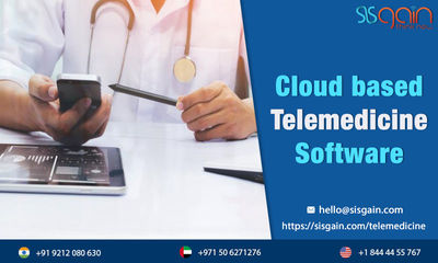 SISGAIN is famous for development of telemedicine software in USA which provides best Telemedicine software programs for various medical organizations. Use of cloud based telemedicine software ease the process. Call us any time for extra details at +18444...