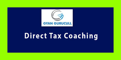 Enroll in Gyan Gurucull for Direct tax coaching classes where you get the best combination of Theory and practical classes by CA Jassprit Johar. Know more call: +91-801-092-1000 or visit https://www.gyangurucull.com/