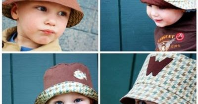 Free Sewing Pattern - Bucket Hat from the Kids Free Sewing Patterns Category, Free Crochet Patterns, Free Knitting Patterns