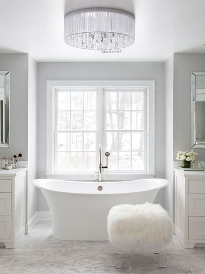 Susan Glick Interiors Bathrooms His And Her Vanities Hi Bath Ideas Juxtapost