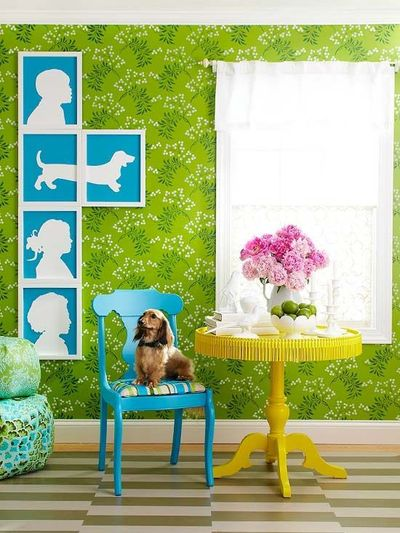 Get your spaces into shape with fearless room updates and silhouette-inspired DIY projects that revive a classic art.