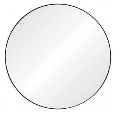Black Nickel Round Mirror $1099.00