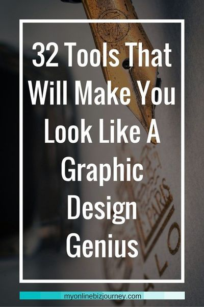 32 Online Graphic Tools...even if you are artistically challenged, you can still create images that go viral. Here are 32 tools to help you do just that.