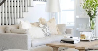 Get the look : Felice Bench - Arteriors Home | additional seating for an open concept living room