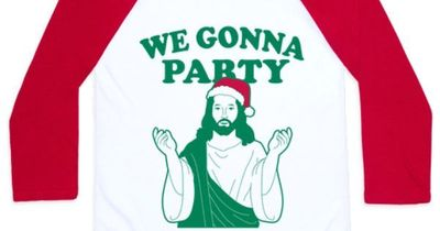 Happy Birthday Jesus. Celebrate the birth of christ in this humorous christmas shirt. Shop our entire holiday collection for great gifts for everyone. Free shipping on U.S. order over $50.00.