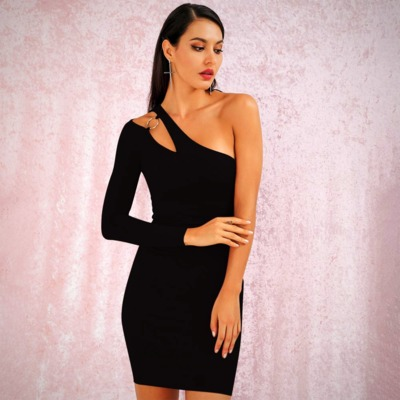LONG SLEEVE BODYCON PARTY MINI DRESS $48.99