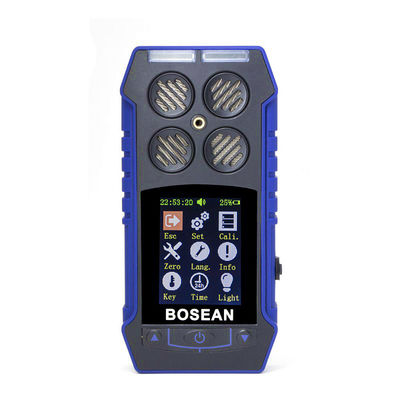 BH-4S 4 in 1 Combustible Gas Detector Oxygen O2 Carbon Monoxide Hydrogen Sulfide Toxic And Harmful Gas Concentration Detector Leak Detector
