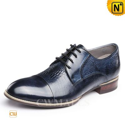 CWMALLS® Vintage Cap toe Leather Oxfords CW716252