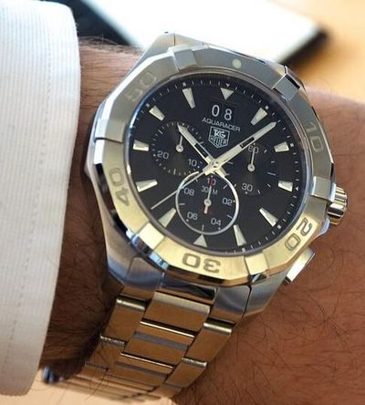 TAG Heuer 2015 Aquaracer 300M Watch Released