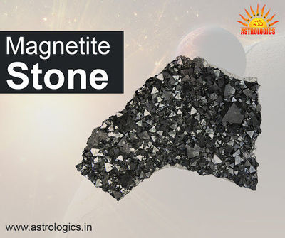Magnetite Stone  Magnetite Stone is magnetic and has powerful positive-negative polarity. It attracts and repels, energizes, and sedates. It acts as a grounding stone. Magnetite temporarily aligns the chakras, the subtle and etheric bodies. It aids tele...