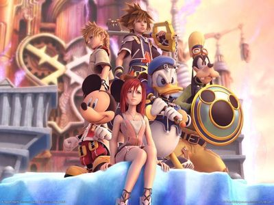 Lalalove this game :D Kingdom Hearts, really, when I hear the music, I feel butterflies in my stomach..!