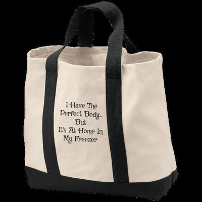 Perfect Body Tote, shopping tote, tote, shopping bag, samhain, reusable bag, Halloween, embroidered, canvas tote, canvas bag, wicca $29.45