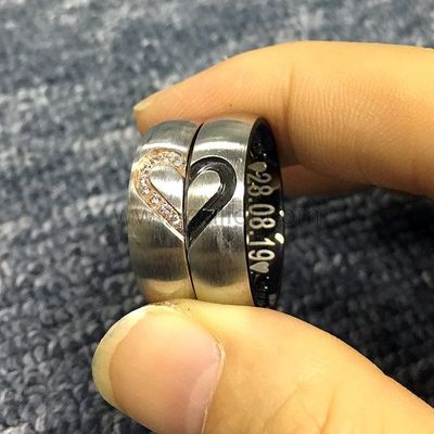 Engraved Hearts Promise Titanium Rings for Him and Her https://www.gullei.com/engraved-hearts-promise-titanium-rings-for-him-and-her.html