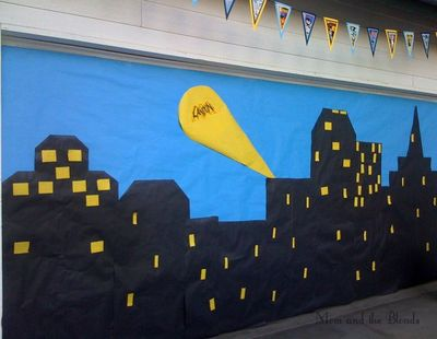 Gotham City Party Backdrop Gotham City Backdrop For