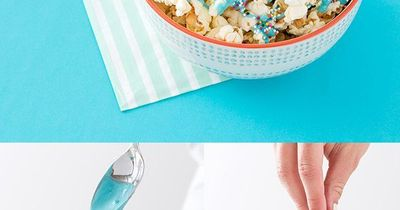 The Perfect Popcorn Treats For Your Disney Family Movie Night! 1) FEAST PARMESAN POPCORN: Add butter/olive oil & grated parmesan. 2) TANGLED EVER AFTER POPCORN ICE CREAM: Add salted popcorn to vanilla bean ice cream and top with caramel. 3)...
