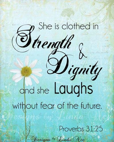 Proverbs 31 25 Quotes: Proverbs 31:25 / Inspiring Quotes And Sayings